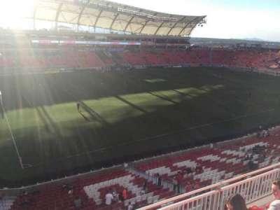 Rio Tinto Stadium, section: 205, row: D, seat: 12