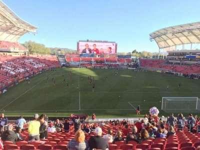 Rio Tinto Stadium section 30