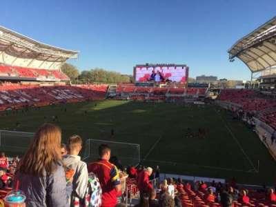 Rio Tinto Stadium, section: 26, row: ZC, seat: 27