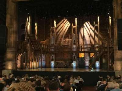 PrivateBank Theatre, section: Orchestra C, row: V, seat: 119