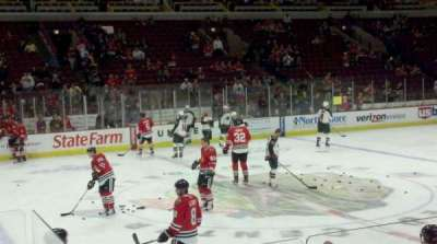 United Center, section: 101, row: 5, seat: 21