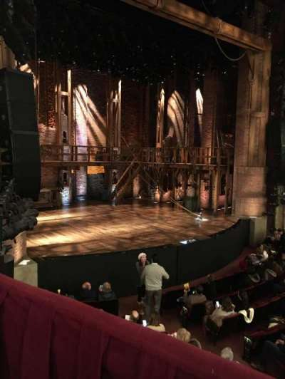 CIBC Theatre, section: Dress Circle Box 1, row: Box 1, seat: 201