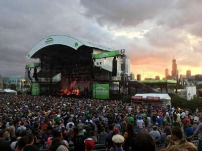 Huntington Bank Pavilion at Northerly Island section F - VIP