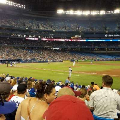 Rogers Centre, section: 115R, row: 14, seat: 6