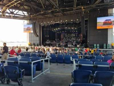 Lakeview Amphitheater (Syracuse), section: 204, row: F, seat: 16