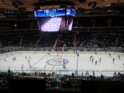 Madison Square Garden, section: 225, row: 2, seat: 5