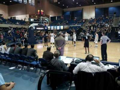 The Pavilion (UC Davis), section: 110, row: B, seat: 2