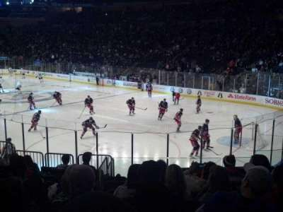 Madison Square Garden, section: 120, row: 13, seat: 12