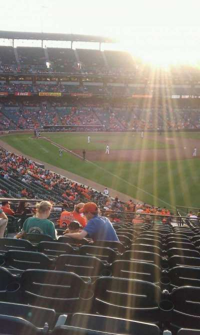 Oriole Park at Camden Yards section 5