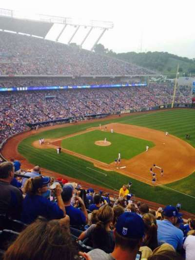 Kauffman Stadium section 433