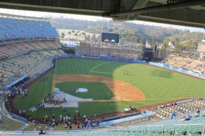 Dodger Stadium, section: Upper Look Out
