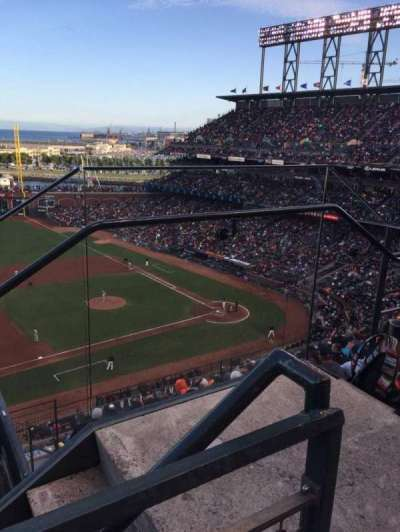 AT&T Park, section: 325, row: 1, seat:  2