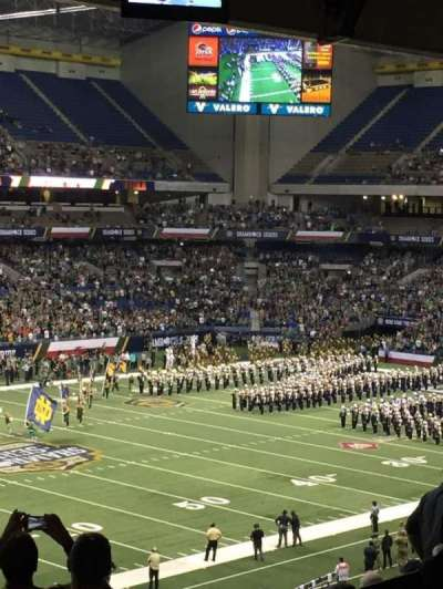 Alamodome, section: 238a, row: B, seat: 8