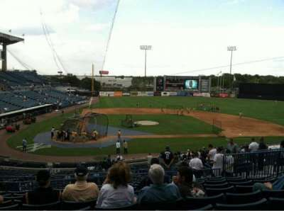 George M. Steinbrenner Field, section: 208, row: J, seat: 11