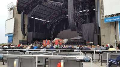 Jones Beach Theater, section: Orchestra, row: BB, seat: 14