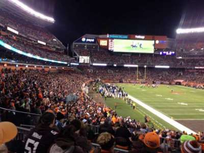 FirstEnergy Stadium, section: 117, row: 27, seat: 8