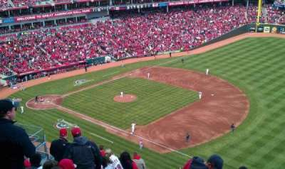 Great American Ball Park, section: 534, row: L, seat: 6