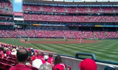 Great American Ball Park section 137