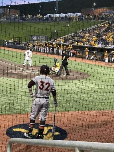 Monongalia County Ballpark, section: 102, row: D, seat: 24