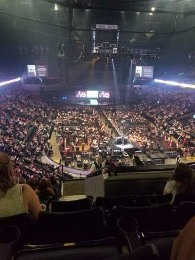 Van Andel Arena, section: 202, row: K, seat: 5