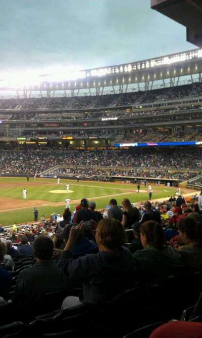 Target Field section 123