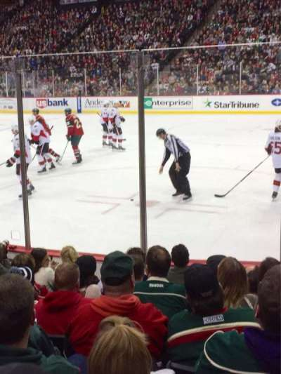 Xcel Energy Center, section: 114, row: 8, seat: 4