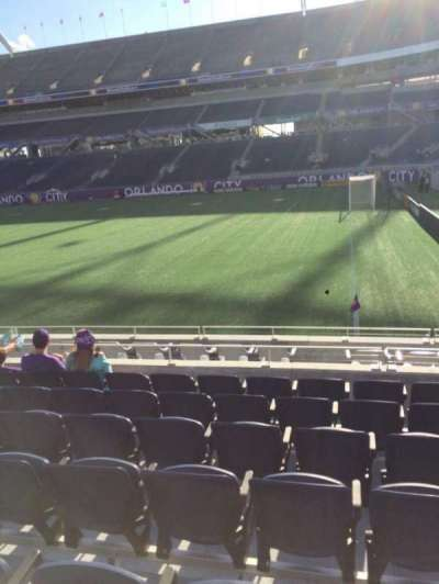 Camping World Stadium, section: 103, row: K, seat: 26