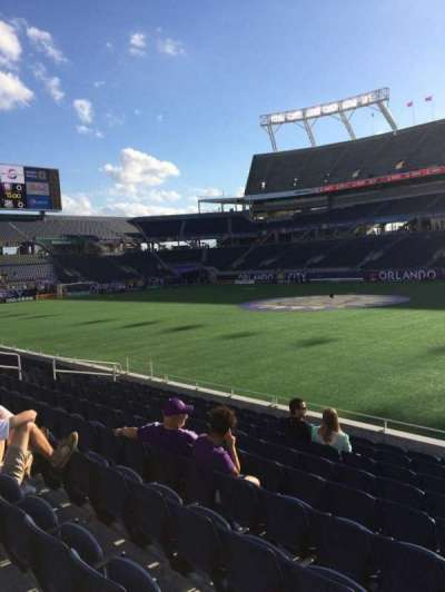 Camping World Stadium, section: 106, row: K, seat: 3