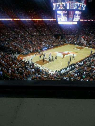 Frank Erwin Center, section: 91, row: 1, seat: 5