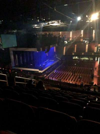 The Forum, section: 227, row: 13, seat: 8