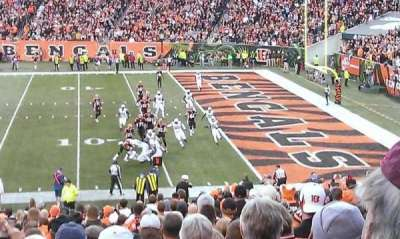 Paul Brown Stadium section 136