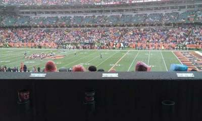 Paul Brown Stadium section 106