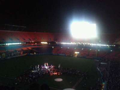 Hard Rock Stadium, section: 452, row: 17, seat: 4