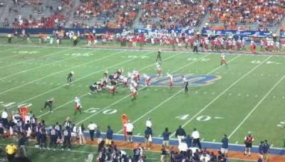 Sun Bowl Stadium section Student