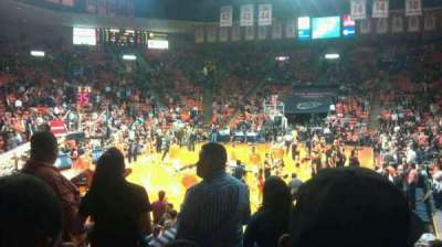 Don Haskins Center, section: Z, row: 8, seat: 2