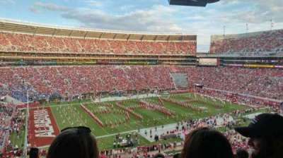 Bryant-Denny Stadium, section: U2-O, row: 6, seat: 18