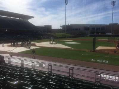 Olsen Field, section: 102, row: 6 , seat: 12