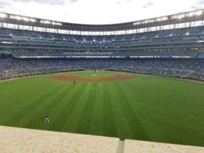 Target Field, section: Catch, row: 1, seat: 13