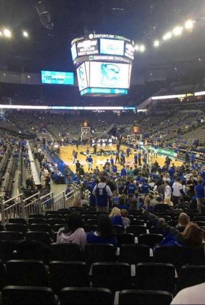 CenturyLink Center, section: 129, row: 16, seat: 11