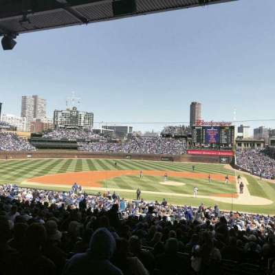 Wrigley Field, section: 216, row: 8, seat: 2
