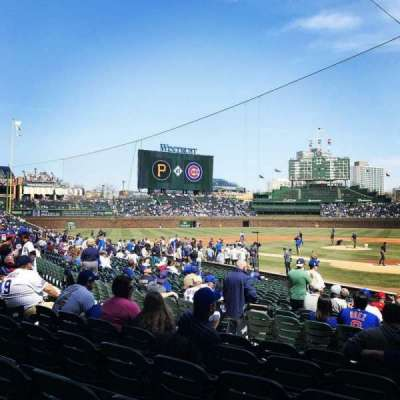 Wrigley Field, section: 120, row: 6, seat: 102