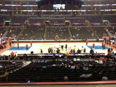 Staples Center, section: PR5, row: 2, seat: 9
