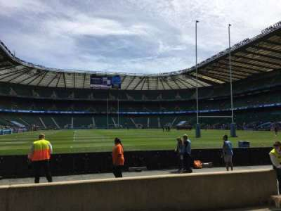 Twickenham Stadium section L16