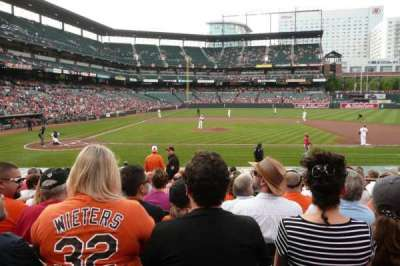 Oriole Park at Camden Yards, section: 24, row: 13, seat: 4