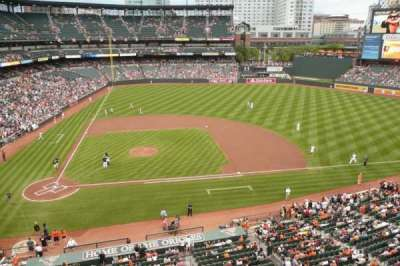 Oriole Park at Camden Yards, section: 324, row: 1, seat: 16