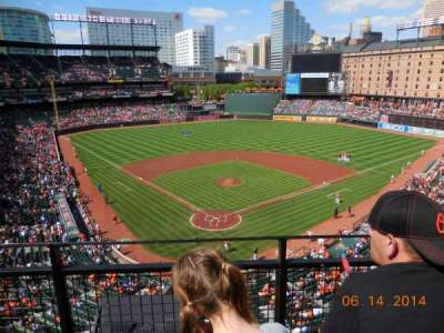 Oriole Park at Camden Yards, section: 334, row: 2, seat: 8