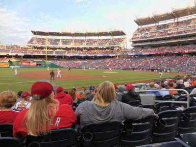 Nationals Park, section: 113, row: M, seat: 7