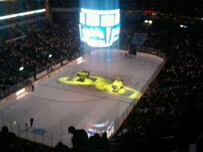 Bridgestone Arena, section: 303, row: R, seat: 5