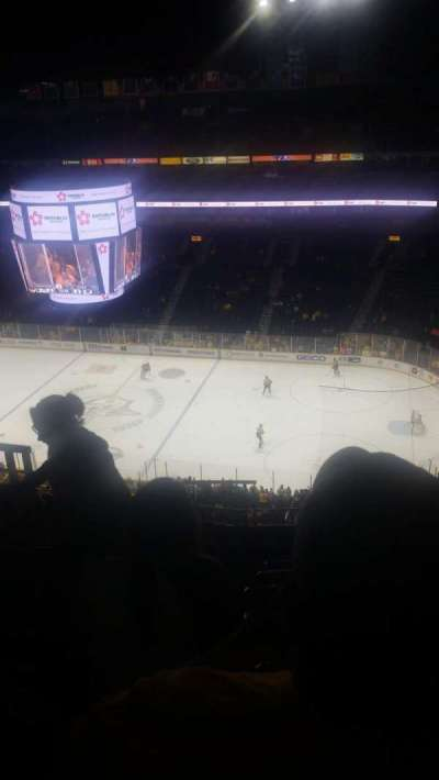 Bridgestone Arena, section: 328, row: L, seat: 16