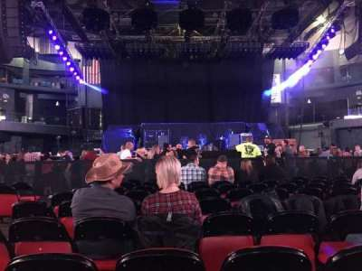 U.S. Cellular Coliseum, section: FLCTR, row: 9, seat: 11